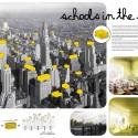 Schools in the Sky (8) competition poster