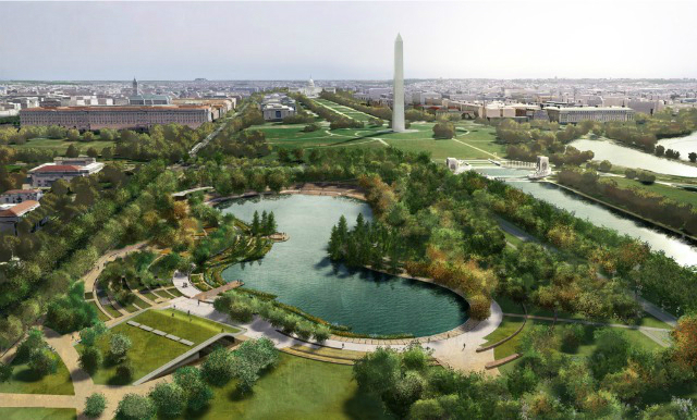 National Mall Finalists Exhibit Designs