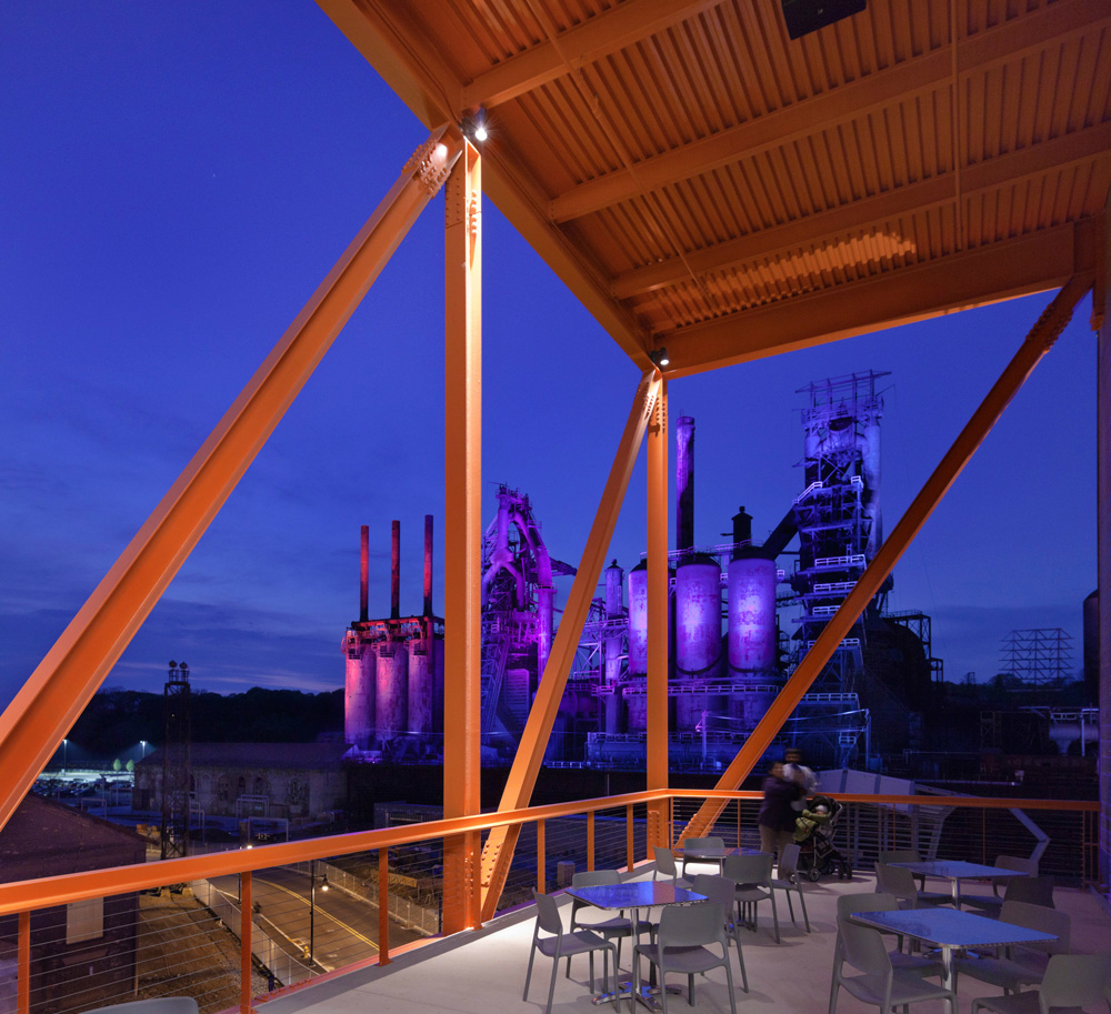 AIA Pennsylvania awards Spillman Farmer Architects for ArtsQuest Center at SteelStacks