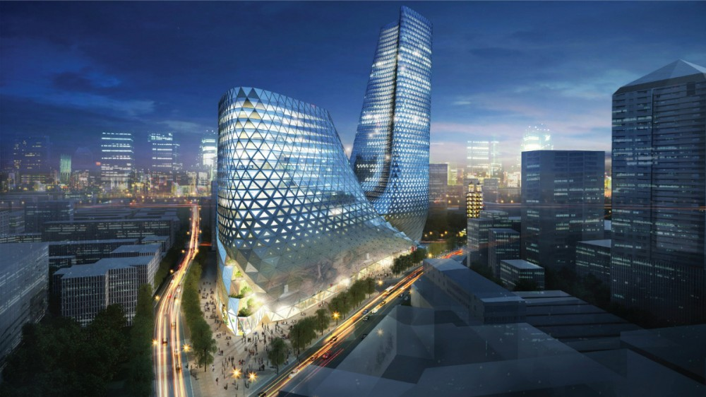 Zhengzhou Mixed Use Development / Trahan Architects