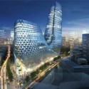 Zhengzhou Mixed Use Development / Trahan Architects (5) Courtesy of Trahan Architects