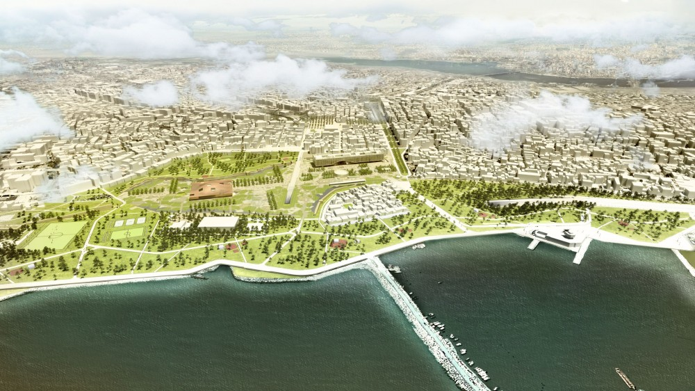 Yenikapı Transfer Point and Archaeo-park Area / Mecanoo