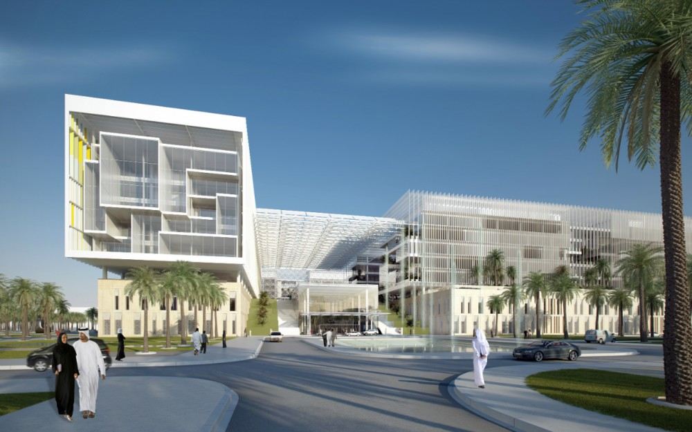 Sheikh Khalifa Medical City in Abu Dhabi / SOM