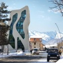 Mestia Police Station / J. MAYER H. Architects Courtesy of J. MAYER H. Architects