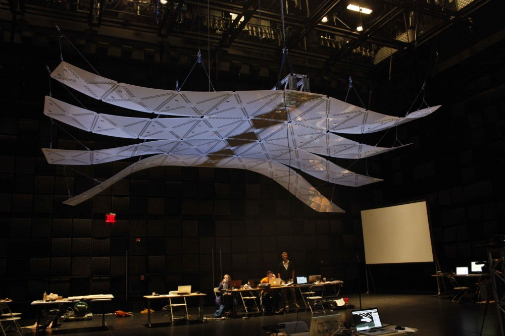 'Manta' Installation for SmartGeometry 2012 Conference / Guillermo Bernal, Eric Ameres, Zackery Belanger, Seth Edwards