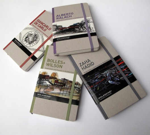 Facebook 500,000 Fans Giveaway: Moleskine – Inspiration and Process in Architecture Winners