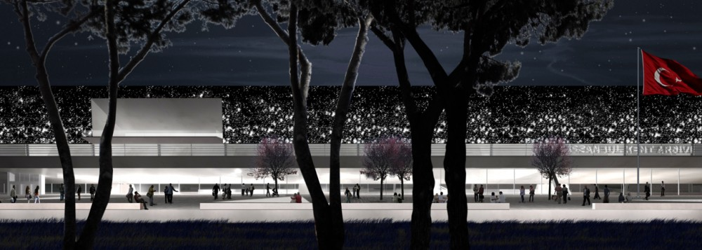Yenikapi Transfer Point and Archaeo-Park Area Proposal / insula architettura e ingegneria + Atelye 70