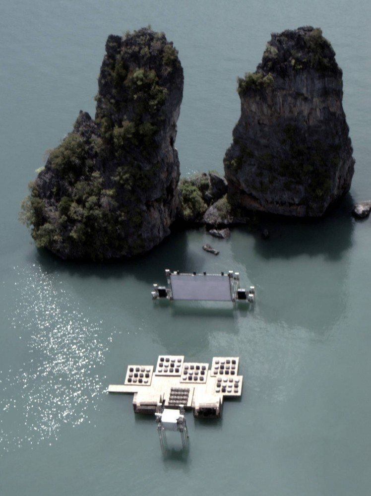 Archipelago Cinema / Buro Ole Scheeren + Film on the Rocks Yao Noi Foundation