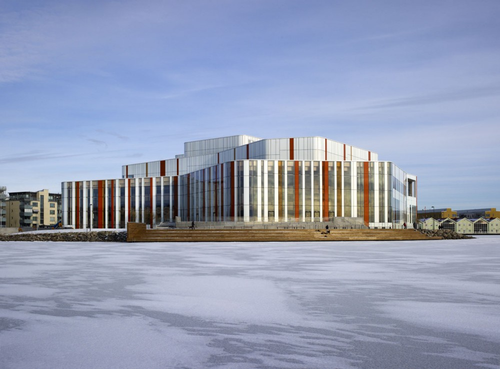 Spira Performing Arts Center / Wingårdh Arkitektkontor