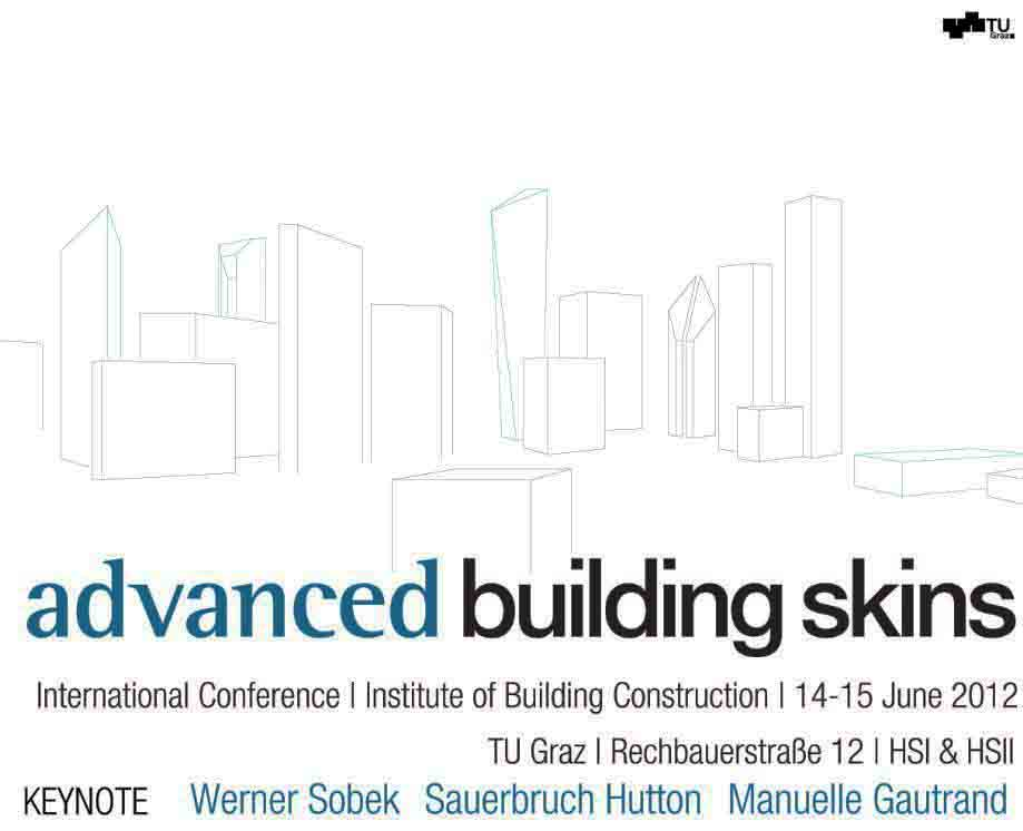 Advanced Building Skins Conference