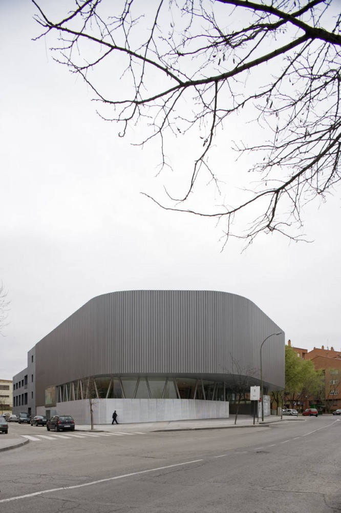 Public Library Vallecas / Exit Architects