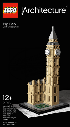 LEGO Architecture Landmark Series: Big Ben