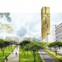 Finalists for the Masterplan of Tirana, Albania / Grimshaw Architects (1) Courtesy of Grimshaw Architects