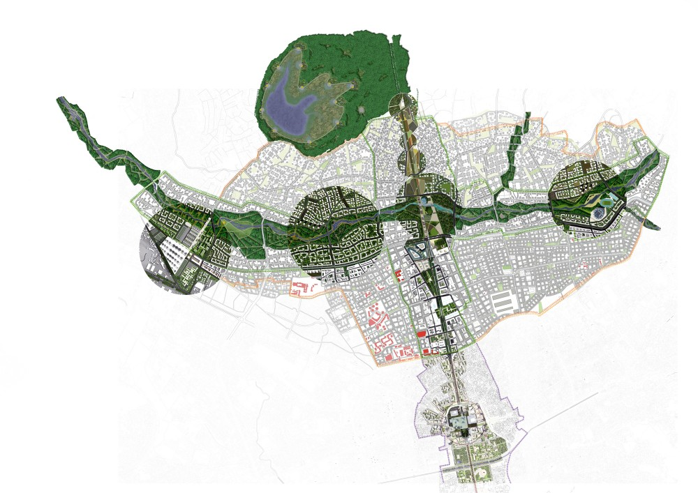 Finalists for the Masterplan of Tirana, Albania / Grimshaw Architects