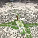 Finalists for the Masterplan of Tirana, Albania / Grimshaw Architects (2) Courtesy of Grimshaw Architects