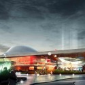 Emmen Theatre and Zoo Entrance (1) Courtesy of Henning Larsen Architects and Van den Berg Groep
