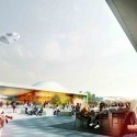 Emmen Theatre and Zoo Entrance (4) Courtesy of Henning Larsen Architects and Van den Berg Groep