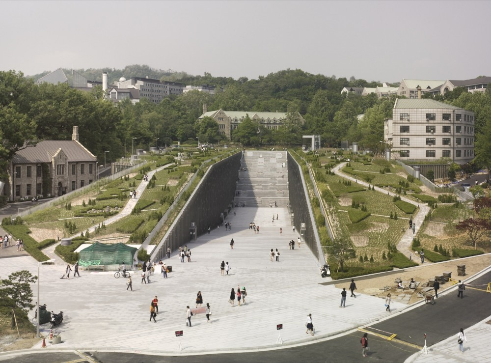 Ewha Womans University / Dominique Perrault Architecture