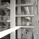 Ewha Womans University / Dominique Perrault Architecture (33) © André Morin / DPA / Adagp