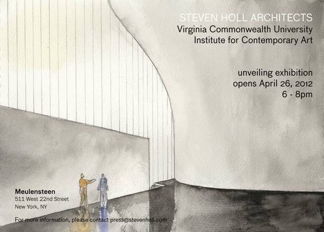 Unveiling Exhibition of VCU Institute for Contemporary Art / Steven Holl Architects