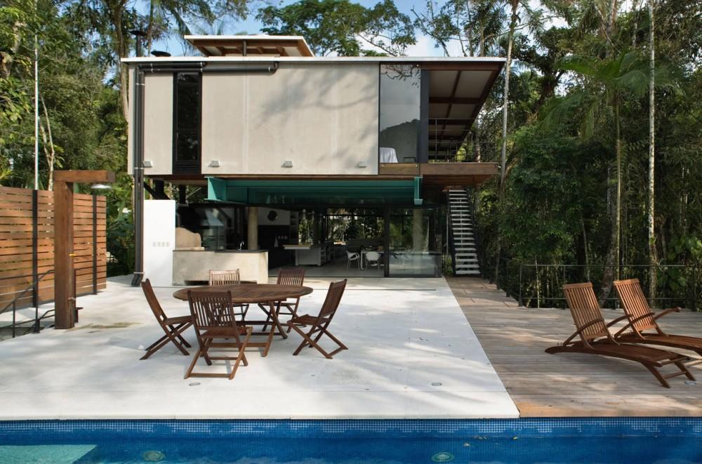 House In Iporanga / Nitsche Arquitetos Associados © Nelson Kon