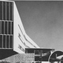 The Neutra Embassy Building in Karachi, Pakistan via of the Neutra Institute for Survival through Design