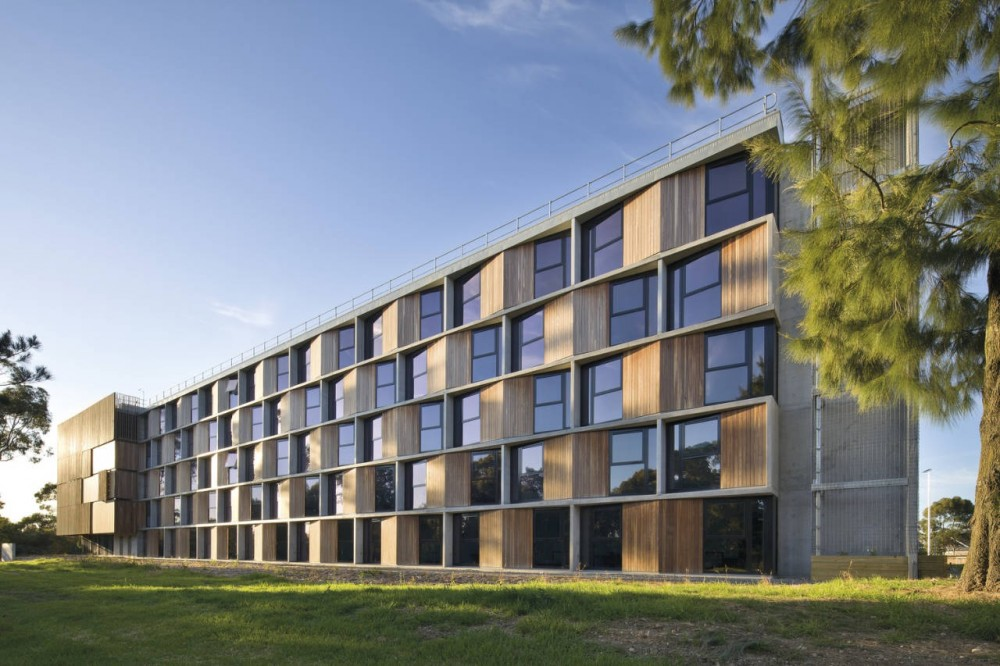 Monash University Student Housing / BVN