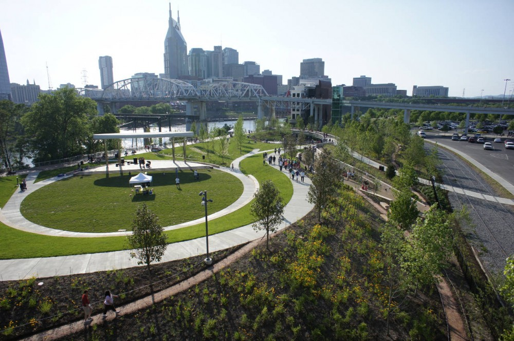 Cumberland Park / Hargreaves Associates