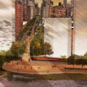 First Place Reimagining the Waterfront Ideas Competition / Joseph Wood - New Jersey, USA First Place / Joseph Wood; Courtesy of Civitas - Reimagining the Waterfront