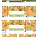 Agro-Housing / Knafo Klimor Architects (21) Plan; Courtesy of Knafo Klimor Architects