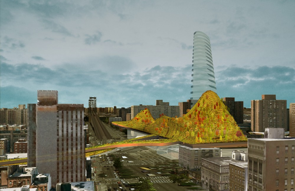Manhattan Mountain: Re-Imagining SPURA on the Lower East Side / Ju-Hyun Kim