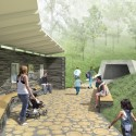 'Dance Floor' Recreation and Memorial Park (1) Courtesy of SAGRA Architects
