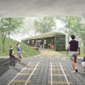 'Dance Floor' Recreation and Memorial Park (4) Courtesy of SAGRA Architects
