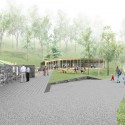 'Dance Floor' Recreation and Memorial Park (7) Courtesy of SAGRA Architects