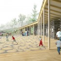 'Dance Floor' Recreation and Memorial Park (8) Courtesy of SAGRA Architects