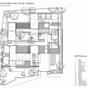 Cluny House / Neri & Hu Design and Reserch Office (9) 1st floor plan