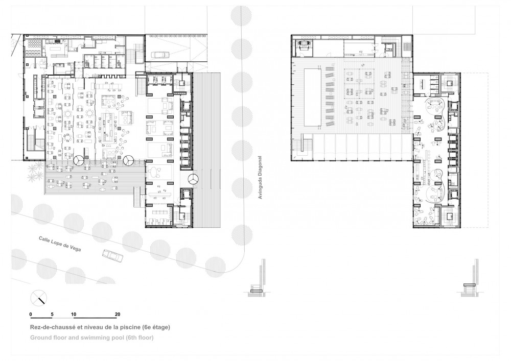 architecture photography hotel me barcelona dominique
