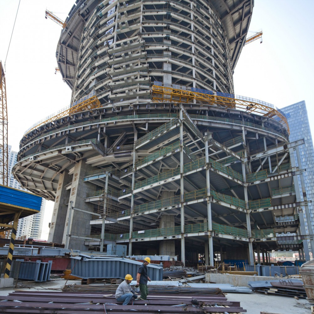 In Progress: Shanghai Tower / Gensler