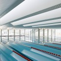 Swimming Pools For Vigo University / Francisco Mangado  Pedro Pegenaute
