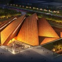 Datong Art Museum design revealed by Foster + Partners (1) © Foster + Partners