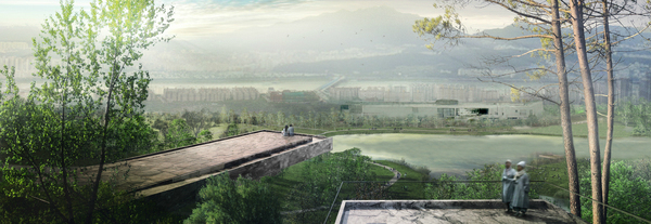 West 8 + IROJE wins Yongsan Park competition in Seoul