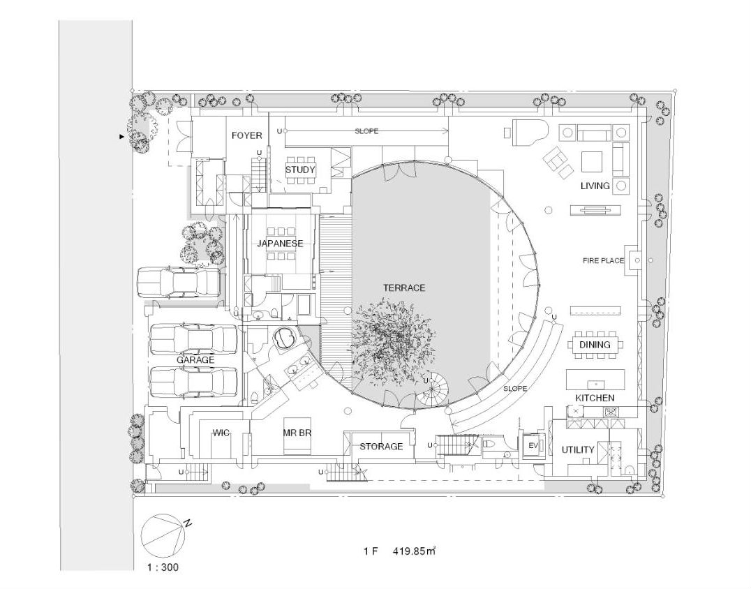 Architecture Photography 1st Floor Plan 229994