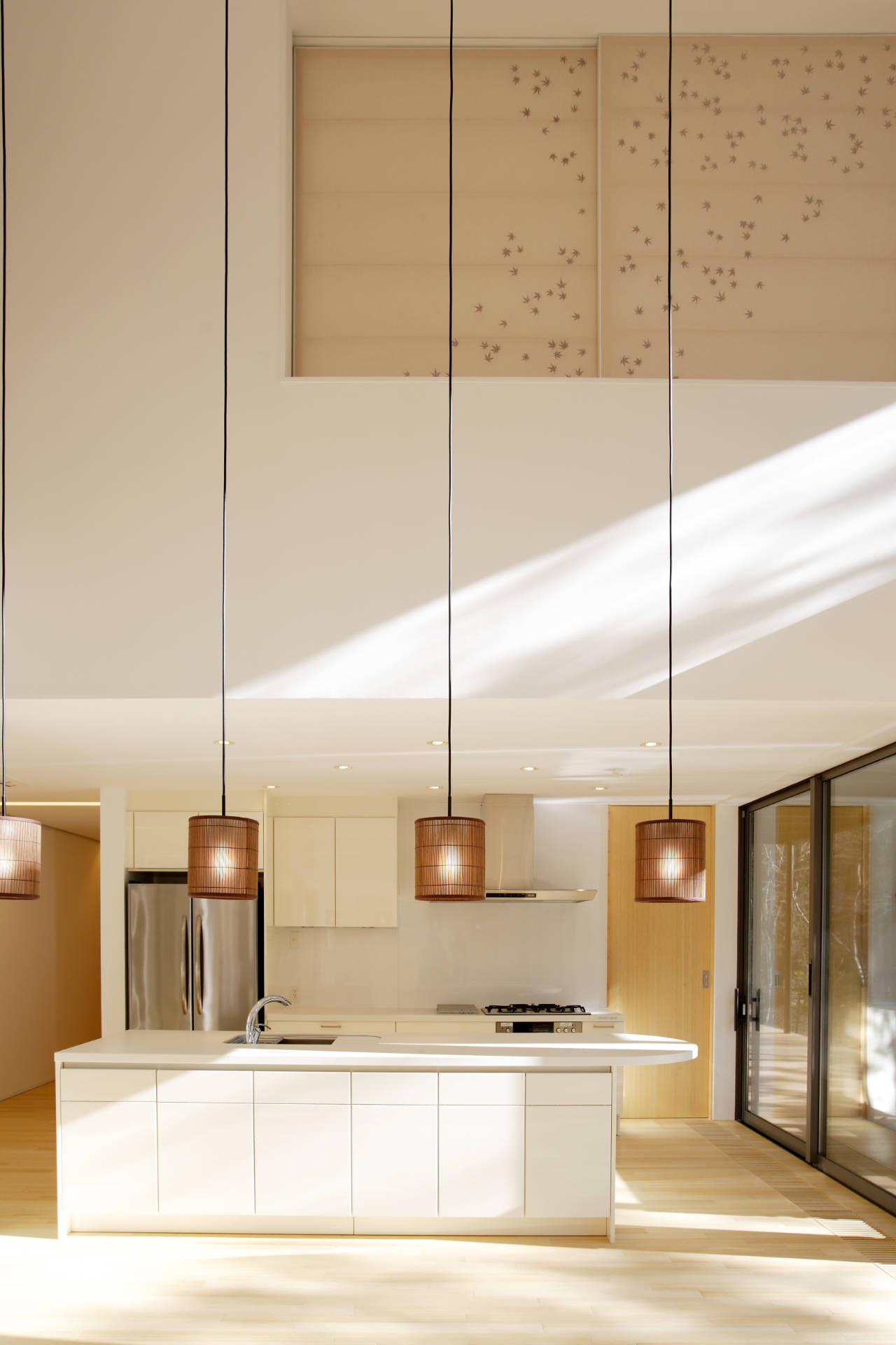 Bleached floors and white kitchen kitchen pinterest for Bleached maple kitchen cabinets