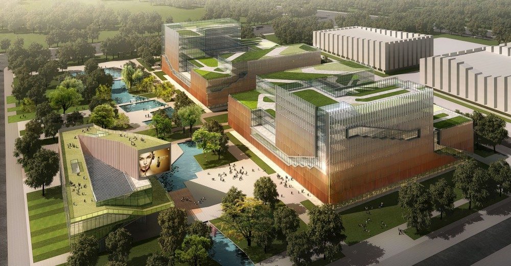 Plot B of China Mobile International Headquarters Campus / Leo A Daly