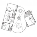 Cocoon House (15) 2nd floor plan