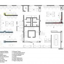 White Canvas & 22 feet office / Kamat & Rozario Architecture (1) Second floor plan