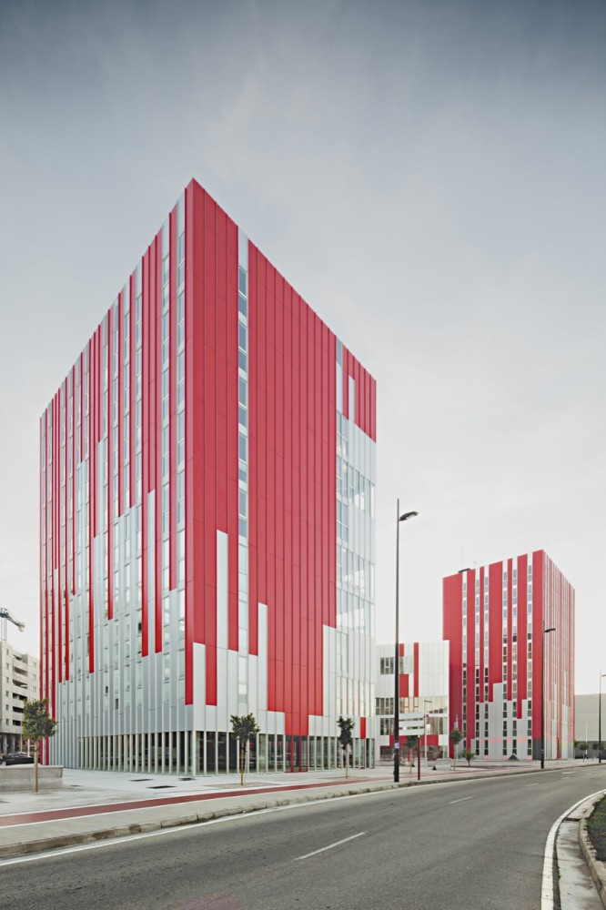University Housing, Gandía / Guallart Architects