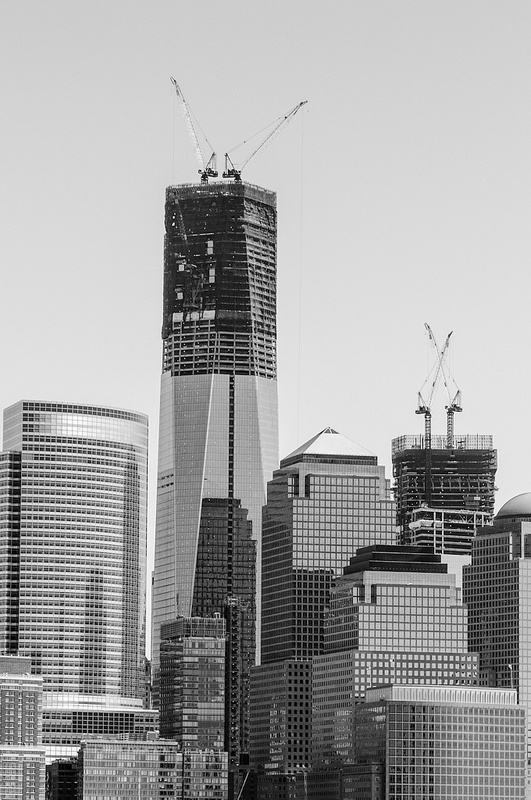 One World Trade Center dominates the NYC Skyline