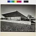 Robinson House, View from the Northeast / Architect: Marcel Breuer / Photographer: Robert M. Damora