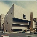 Whitney Museum of American Art; New York, NY; ca. 1963-1966 Whitney Museum of American Art / Architect: Marcel Breuer and Hamilton Smith, Architects; Michael H. Irving, Consulting Architect